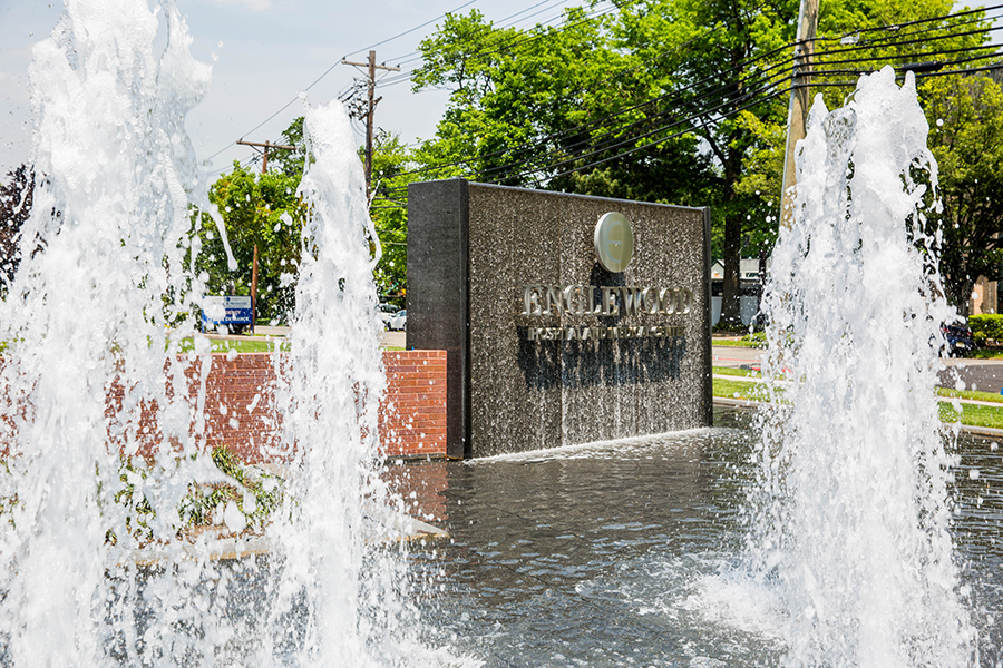 Fountain at Englewood Hospital Project Image