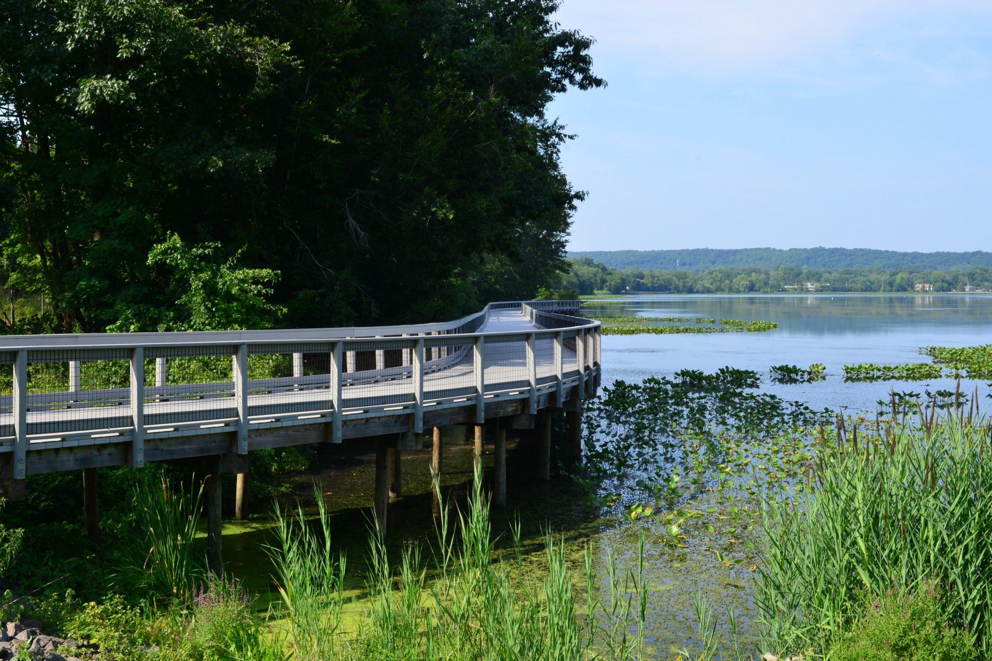 Congers Lake Earthen Dam and Boardwalk Project Image