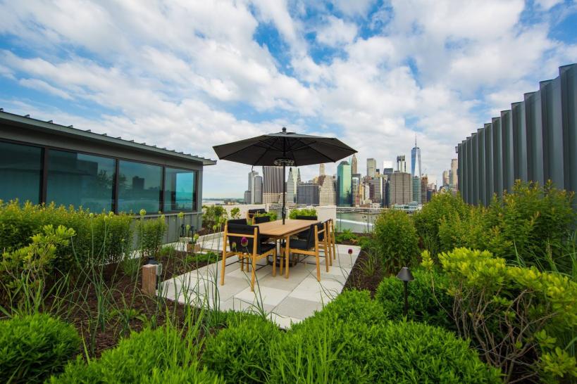 NYC rooftop garden maintenance
